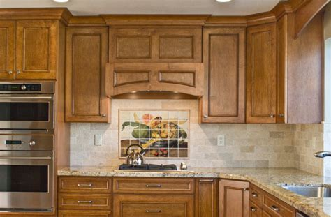 Kitchen Mural Backsplash Italian Kitchen Backsplash Design Idea Mediterranean