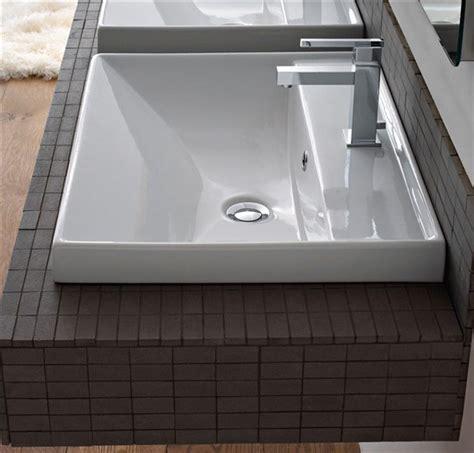 lavandino incasso bagno lavabo incasso 47x60 ml