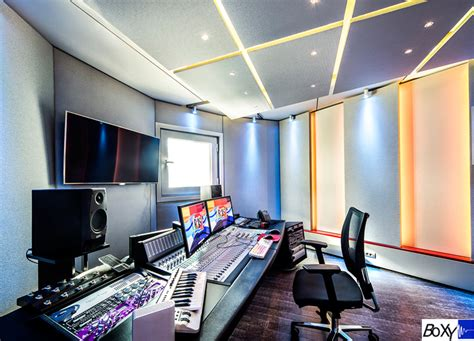 music studio design amadeus boxy modular studios for broadcast editing and production
