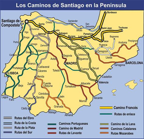 camino de santiago maps walking spain s famed camino my upcoming pilgrimage