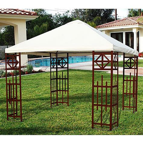 Walmart Patio Gazebo Walmart Patio Gazebo Pitched Roof Patio Gazebo 10 X 10 Walmart Portable Patio Gazebo With
