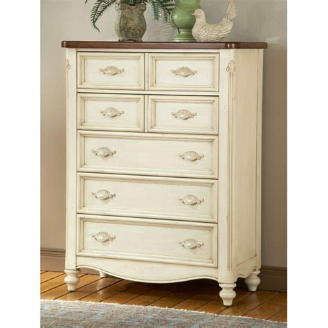 white 5 drawer chest chateau antique white 5 drawer chest dcg stores