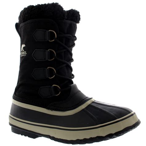 casual mens winter boots mens sorel 1964 pac winter warm casual snow