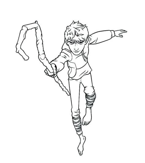 kids n fun com coloring page rise of the guardians jack
