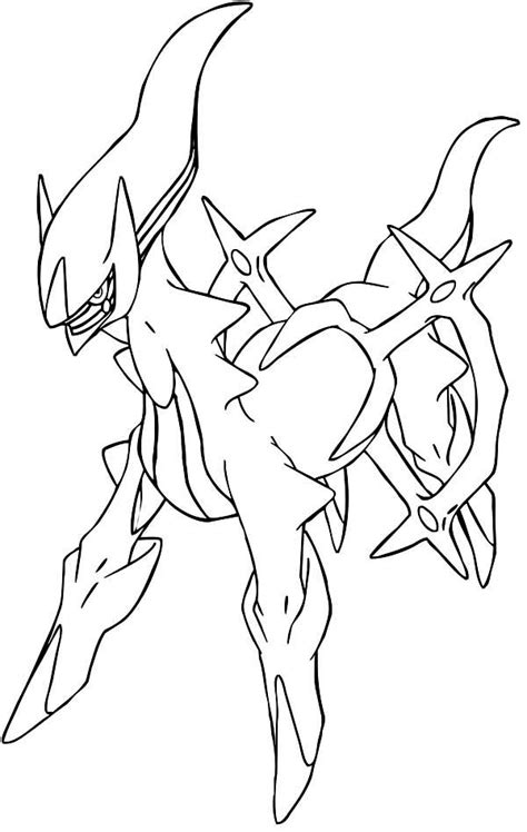 arceus free coloring pages art coloring pages