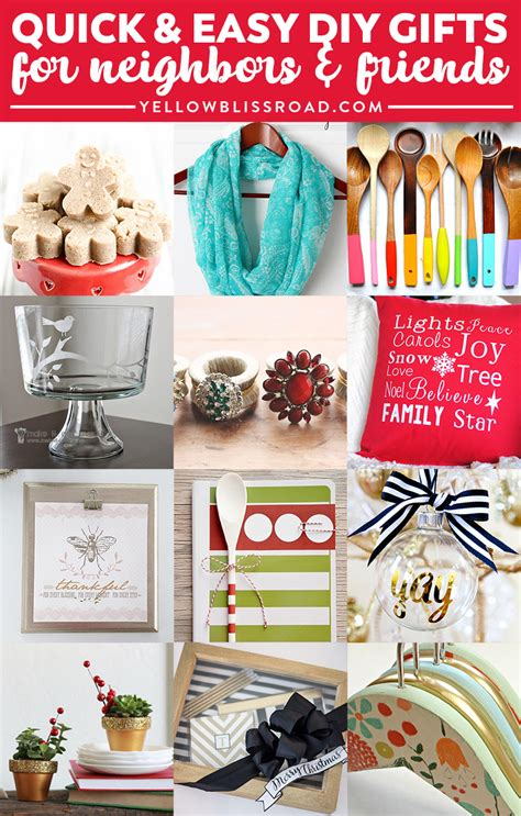 diy christmas gift ideas for friends www pixshark com