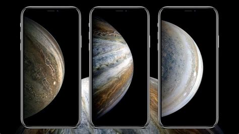 these iphone xs inspired space theme wallpapers from nasa 9to5mac