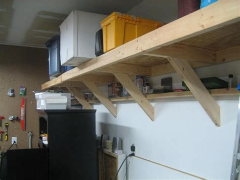 wooden shelves plans for garage pdf guide how to made