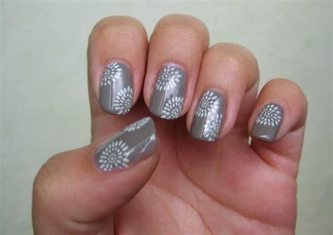 deco ongle gris ongles en gel gris