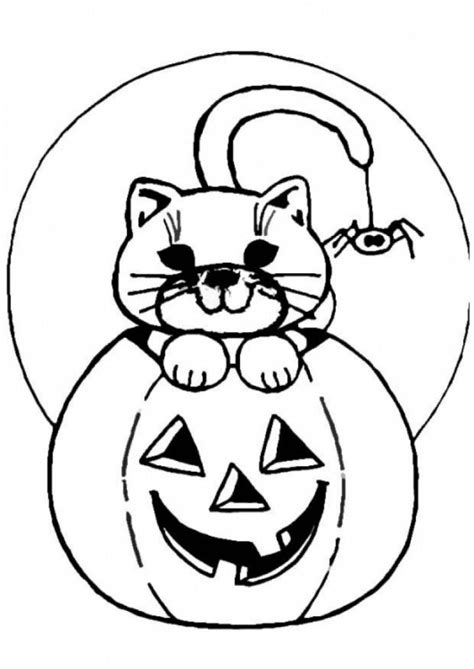 cartoon pumpkin coloring pages cartoon jack o lantern coloring home