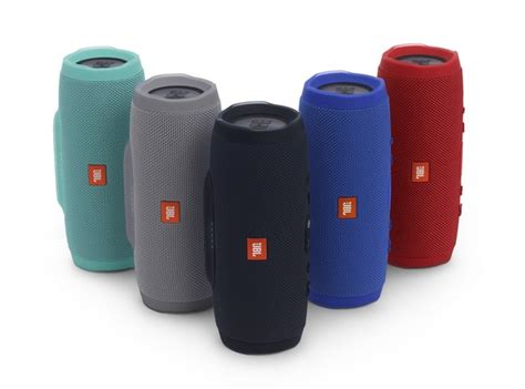 jbl color speaker jbl s charge 3 bluetooth speaker review play all day