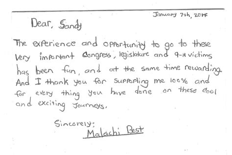 thank you letter to team members testimonals wilbur