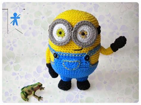 free pattern amigurumi minion bob minion amigurumi crochet pinterest bobs the