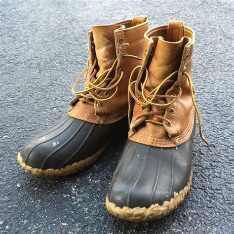 are bean boots waterproof ll bean duck boots