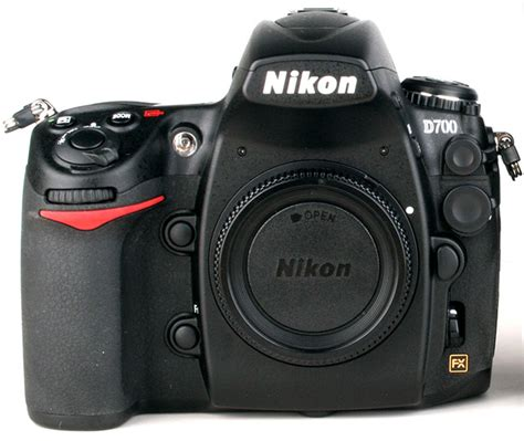 Nikon D700 nikon d700 front