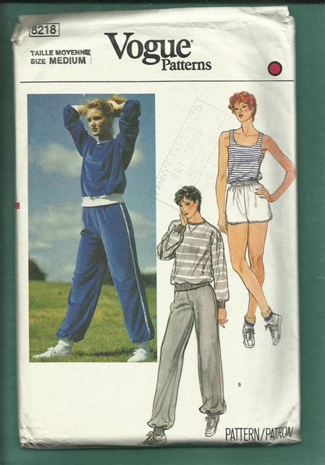 vintage 1970s vogue sportswear collection workout