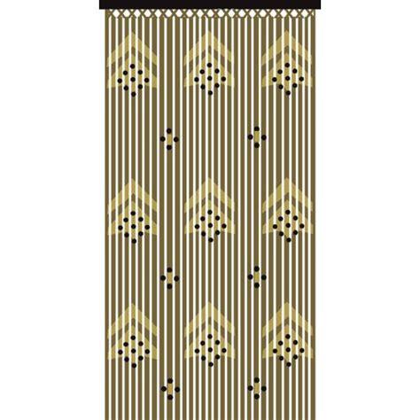 slat type door curtain jvl provence hanging wooden beaded door arrows curtain