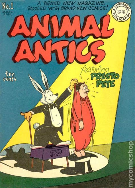 new year animal in 1946 animal antics 1946 comic books 1955 or before