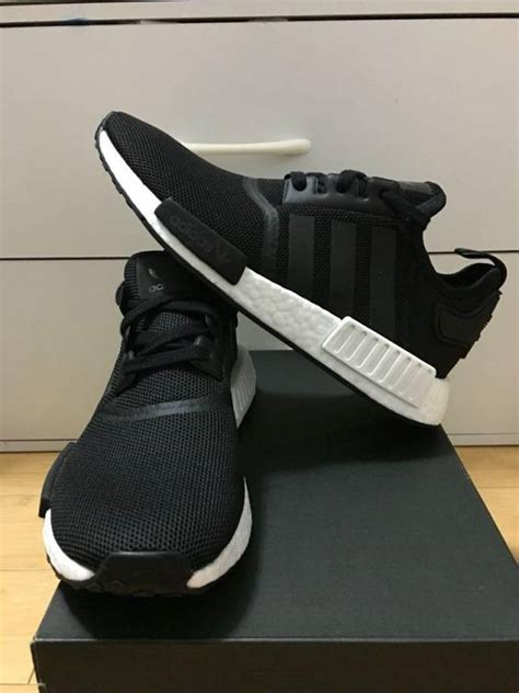 Adidas Nmd Grade Ori Import 1 adidas nmd r 1 black white reflective 3 5 7us kixify marketplace