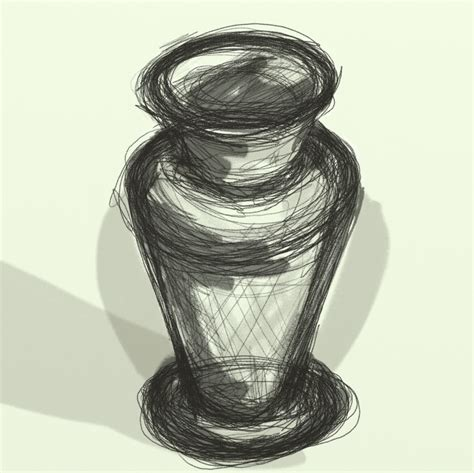 Sketch Of A Vase by Still 171 Thousand Sketches