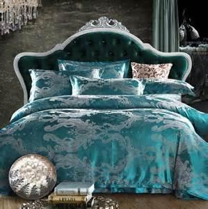 King Size Duvet Covers For Sale Sale King Size 4pcs Silk Jacquard Satin