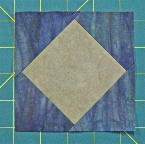 Square Patchwork Templates - square in a square quilt block