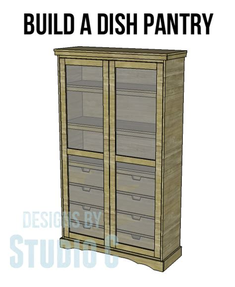 Free Pantry Plans by Diy Pantry Armoire Plans