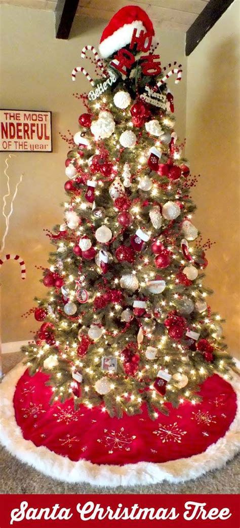 santa claus tree decorations most pinteresting trees on