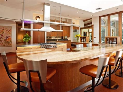 how big is a kitchen island larger kitchen islands pictures ideas tips from hgtv