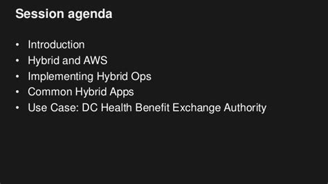 Dc Health Benefit Exchange Case Study Amazon Web Services Aws | hybrid it approach and technologies with the aws cloud