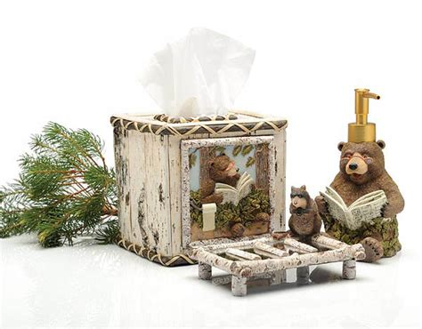 taking care of business bathroom accessories taking care of business bathroom ensemble grizzly