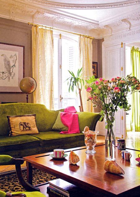 Pink And Green Sofa by 122 Best Eclectic Verve Images On Colors