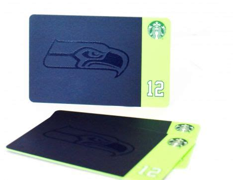 Seahawks Gift Card - starbucks and the seattle seahawks debut a new limited edition gift card starbucks
