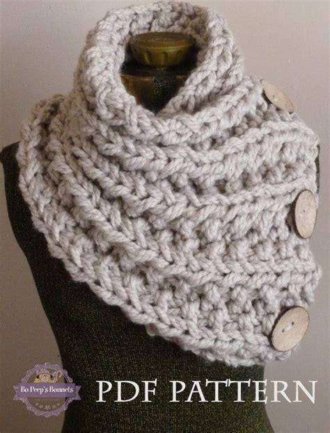 scarf knitting patterns for chunky yarn knitting patterns chunky crochet and knit