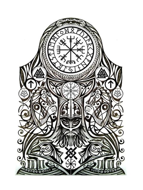 nordic design tattoo best 25 norse ideas on viking tattoos