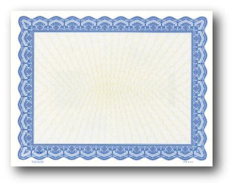 blank award certificate paper buy blank certificate paper