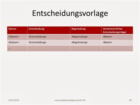 Template Vorlage Powerpoint Entscheidungsvorlage In Powerpoint Zum