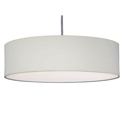 Thin Drum Pendant Shade In Natural Cotton Imperial Lighting Drum Pendant Light Shades
