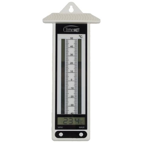 Thermometer Max Min min max garden thermometer by climemet
