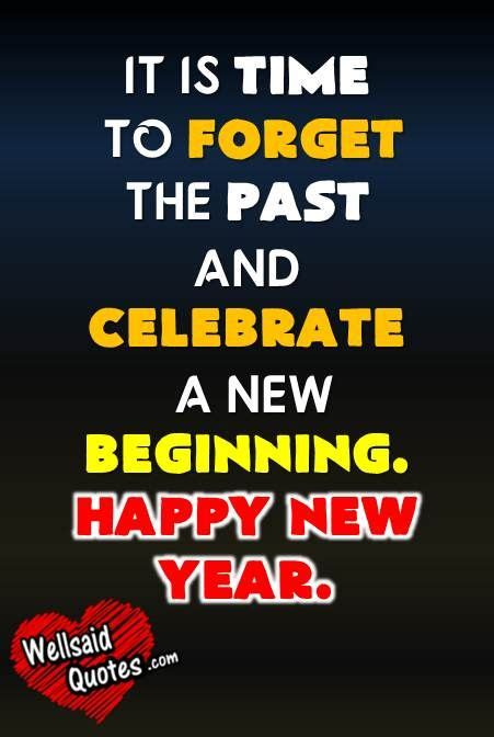 time  forget    celebrate   beginning happy  year  beginnings