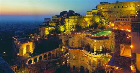 neemrana fort palace guide    time visitors