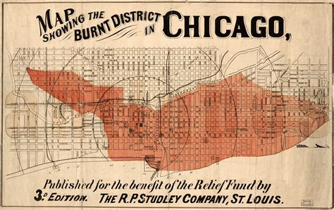 chicago 1871 map maps show how chicago was devastated after the great