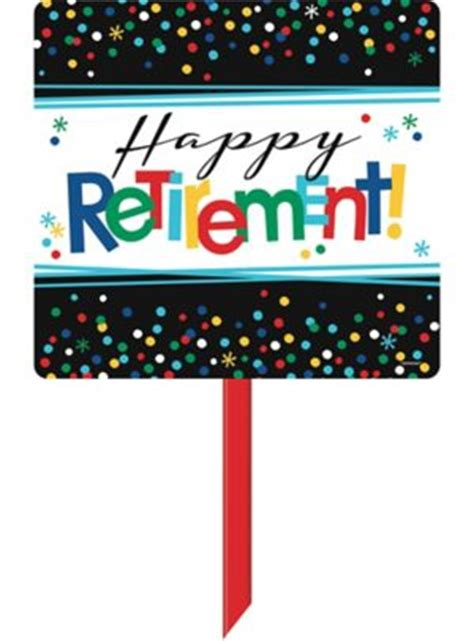 Happy Retirement Celebration Yard Sign 15in x 14in - Party ... Luau Food Ideas For Party