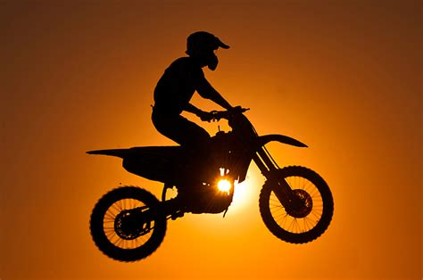 silhouette  motocross  sunset photograph  shahbaz