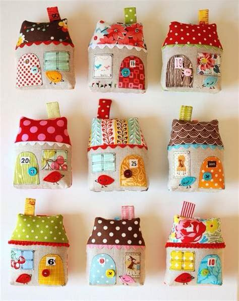 fabric house how to make cute fabric house ornaments step by step diy tutorial instructions how