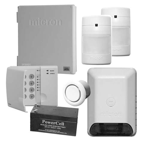 get started with our micron security alarm package home