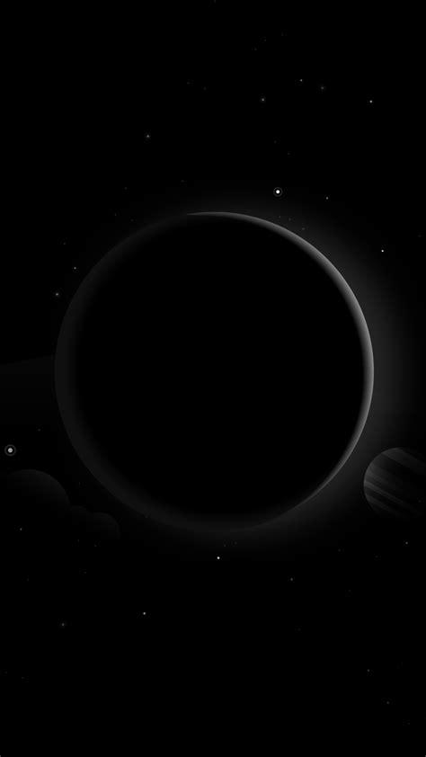 Wallpaper Planets, Moon, Sun, Dark, Stars, HD, Space