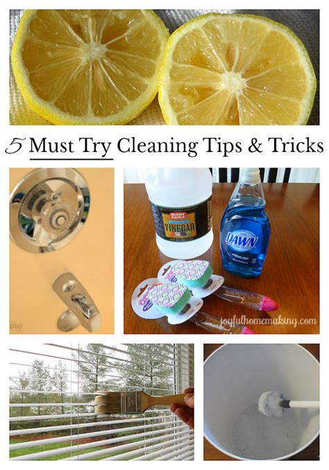 cleaning tips and tricks 5 must try cleaning tips and tricks joyful homemaking