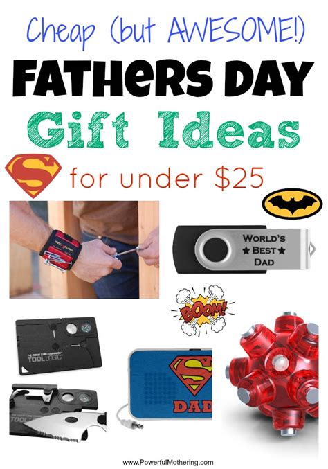25 gift ideas cheap fathers day gift ideas for under 25