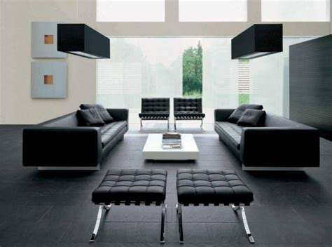 interiors modern home furniture mies van der rohe barcelona chair bonjourlife